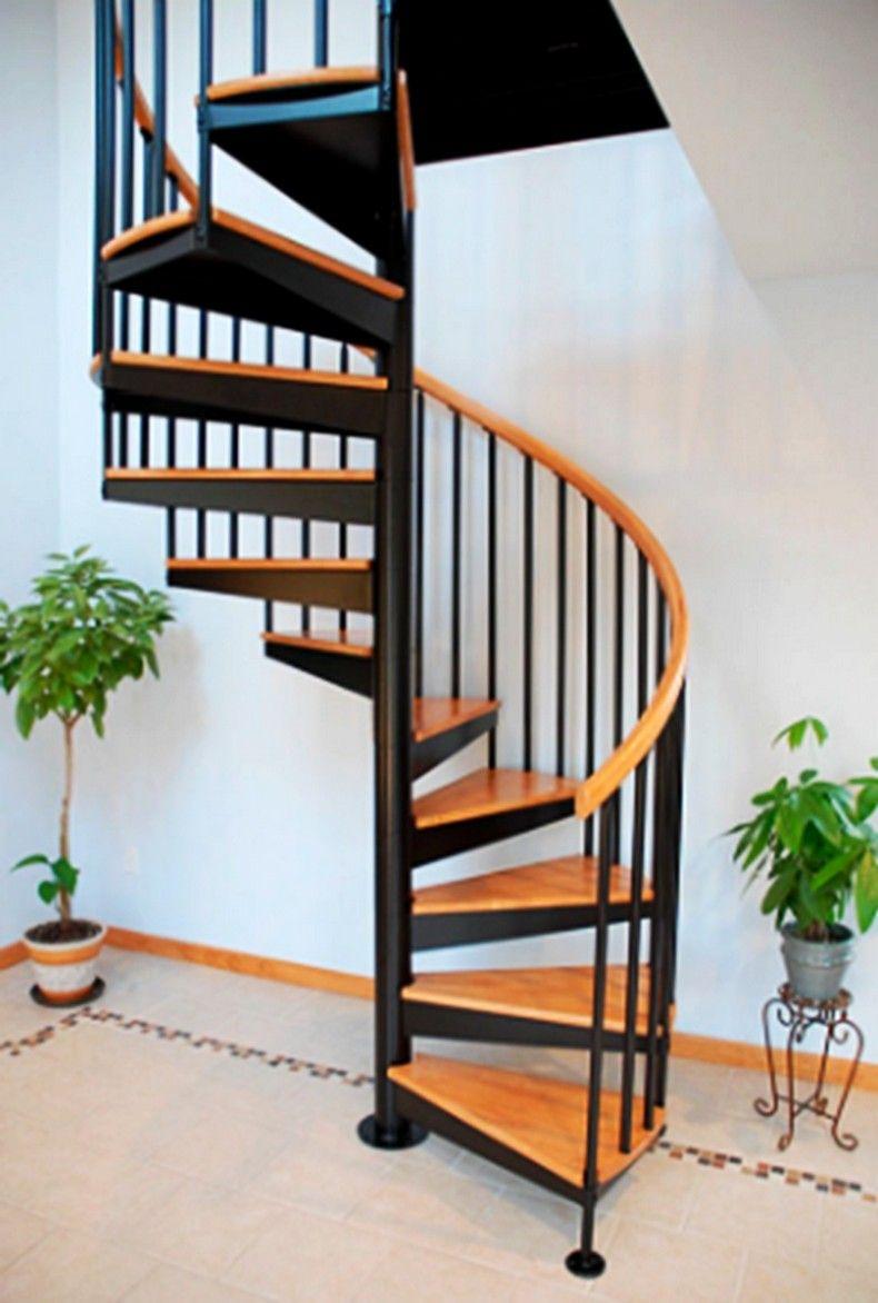 293+ Foto Desain Tangga Spiral Modern Terlihat Keren