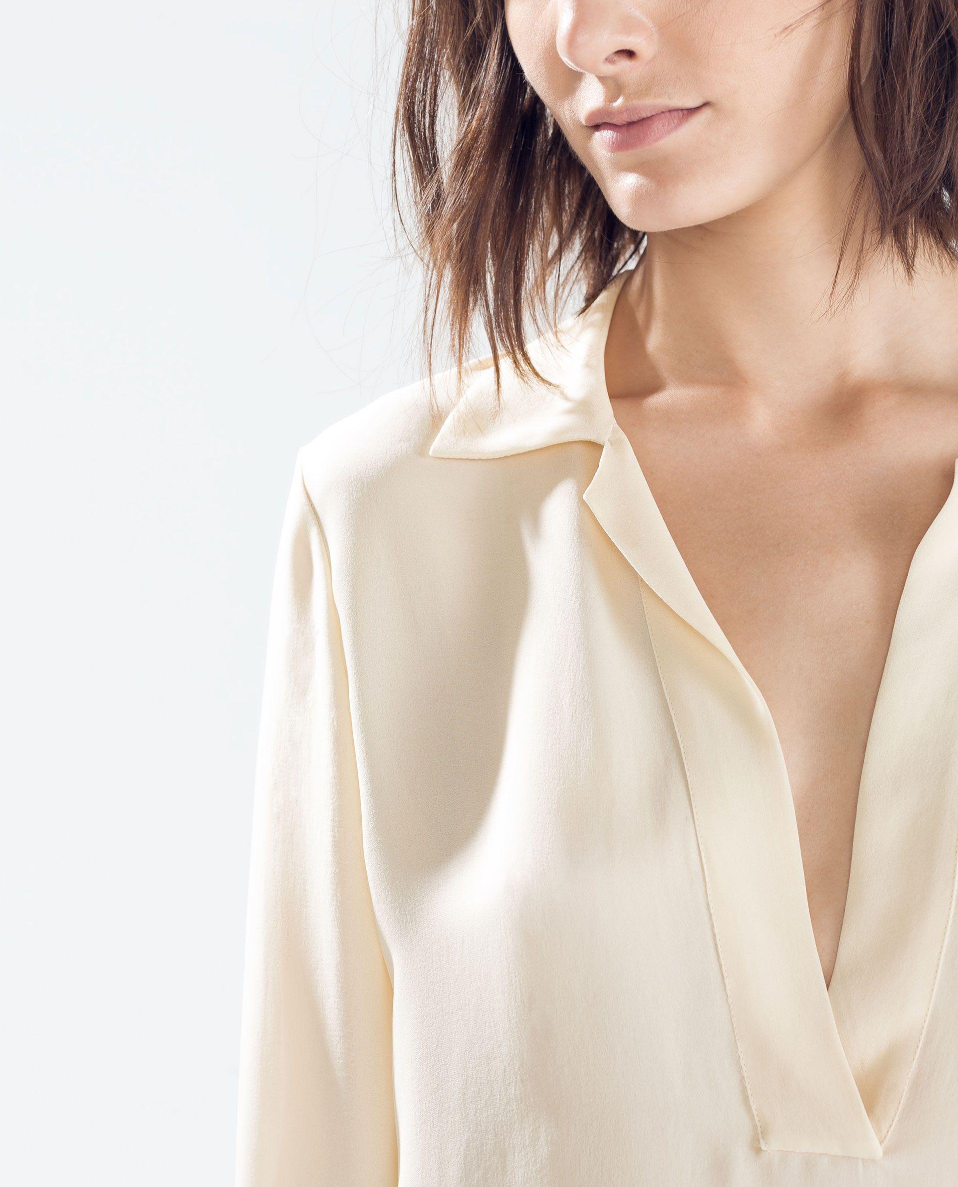 POLO NECK SHIRT from Zara