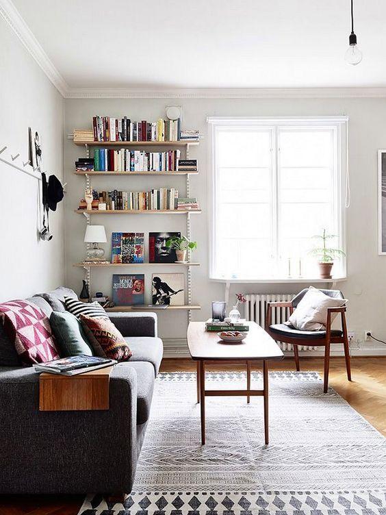 Ideas para decorar una pequeña sala de estar Small living rooms - ideas para decorar la sala