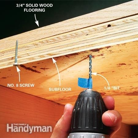 How To Fix Squeaky Floors F Y I Pinterest