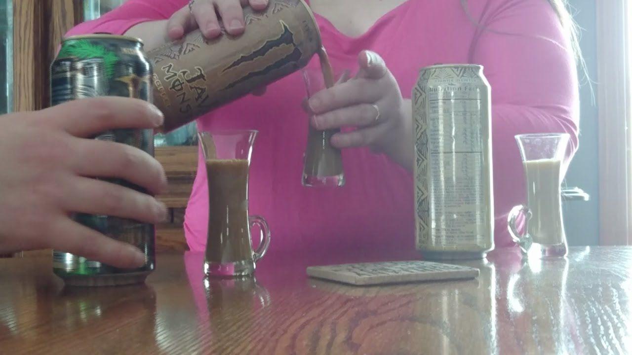 Monster coffee energy drink taste test kona blend vs loca
