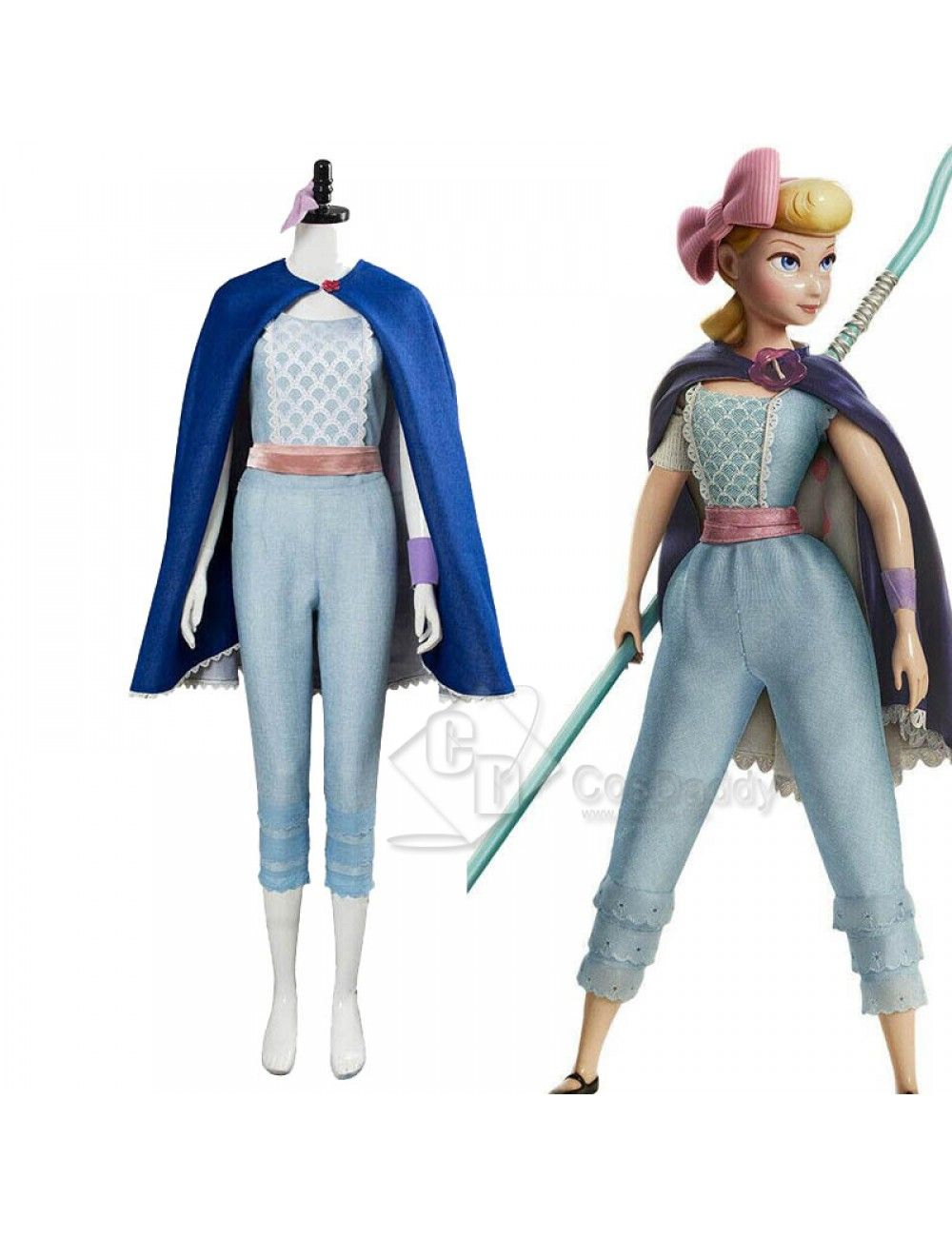 Bo Peep Girls Disney Toy Story 4 New Look Deluxe Halloween Costume
