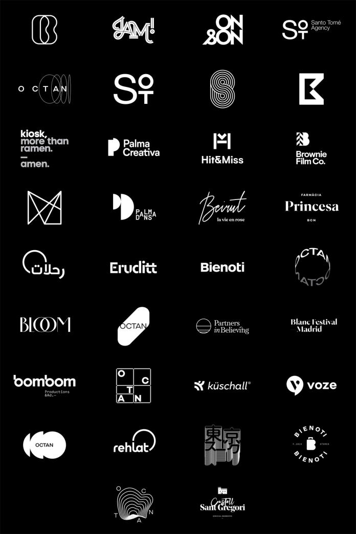 Logo Design Inspiration by Quim Marin Minimal logo