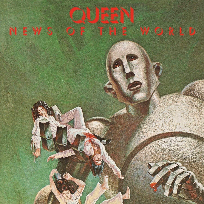 Queen News Of The World Lp Uk 1977 1500 1500 Rock Album Covers Queen Album Covers Queen Albums