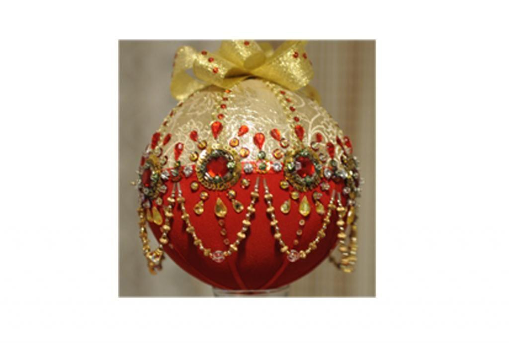 Najpiekniejsze Bombki Bombka 12cm Recznie Zdobiona 4880537436 Oficjalne Archiwum Allegro Christmas Bulbs Christmas Ornaments Holiday