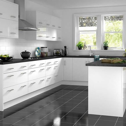 Pleasing Kitchen Compare Com Wickes Houston White Gloss White Beutiful Home Inspiration Truamahrainfo