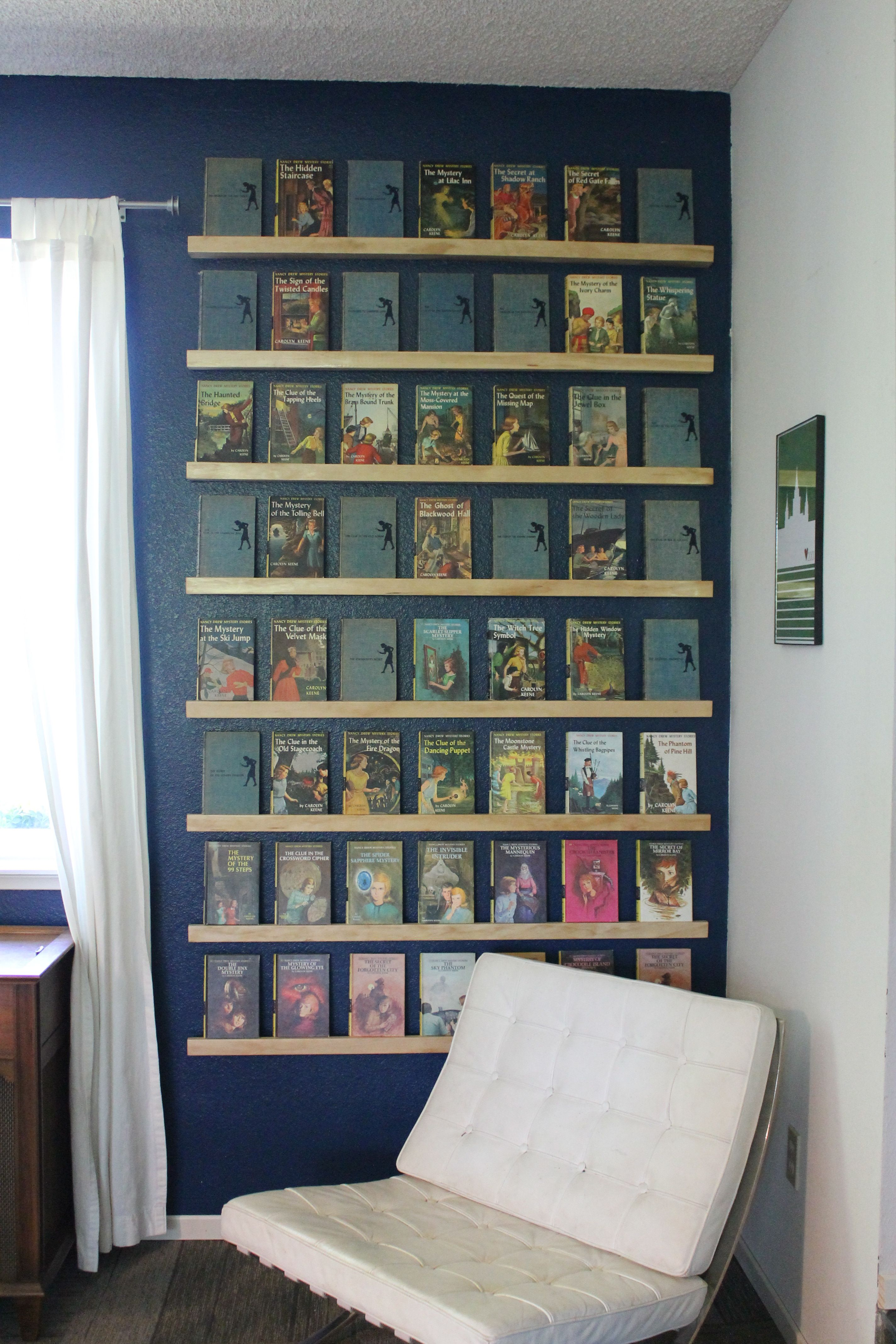 249 photos of the vintage art and wall decor in readers 39 homes reads nancy drew books comic. Black Bedroom Furniture Sets. Home Design Ideas