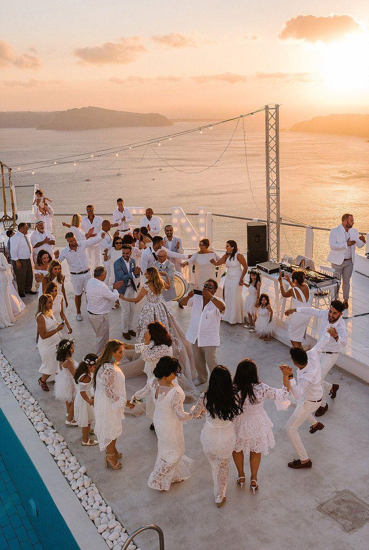Julia And Evita Wedding Planners In 2020 Greece Wedding Santorini Wedding Mykonos Wedding