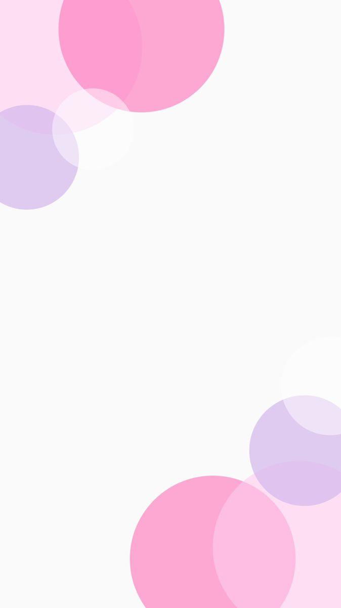 ピンク 紫 ペールトーン 丸 可愛い シンプル インスタ 背景 オシャレ 壁紙 壁紙 ピンク 紫