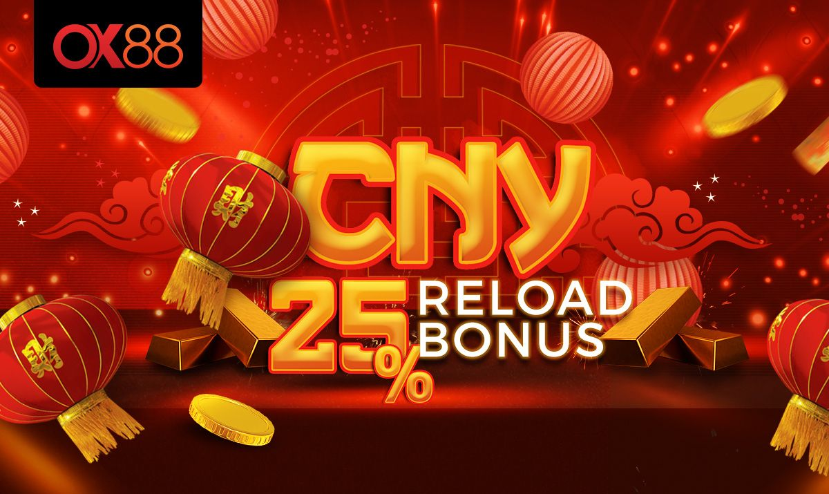 Chinese New Year Reload Bonus Banner For A Online Casino New Year S Games Gaming Banner Banner