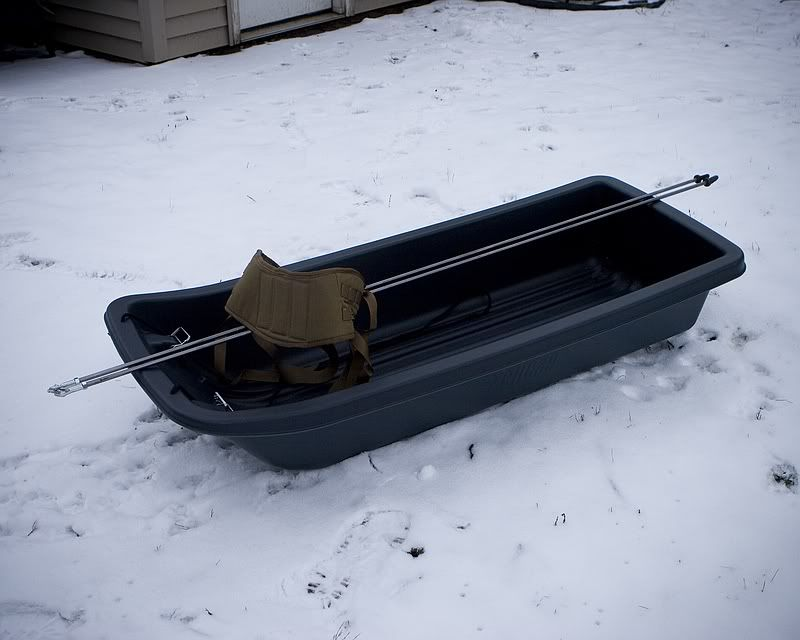 Photos Homemade Pulk Project | BSA | Snow sled, Snow camping