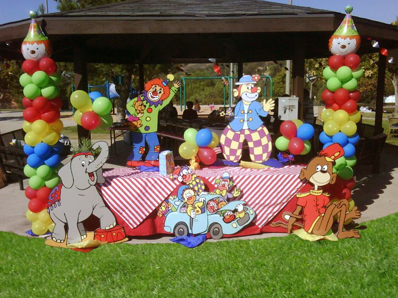 Birthday Party Decoration Ideas Circus Pinterest Circus Decorations Birthdays And Circus