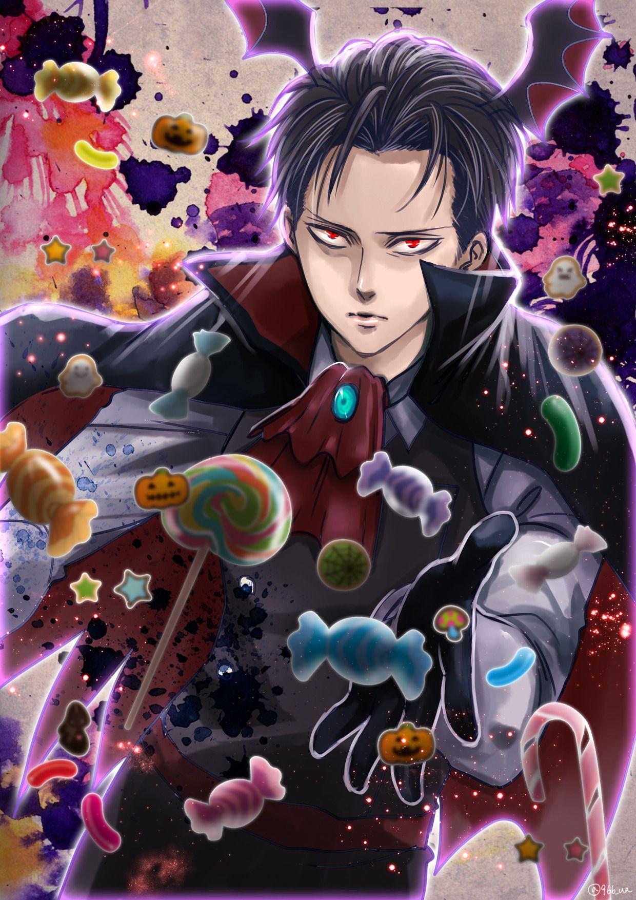 966 Ua Vampire Heichou Anime Attack On Titan Levi Eruri