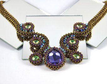 Saffron Bracelet Beading Kit by LiisaTurunenDesigns on Etsy
