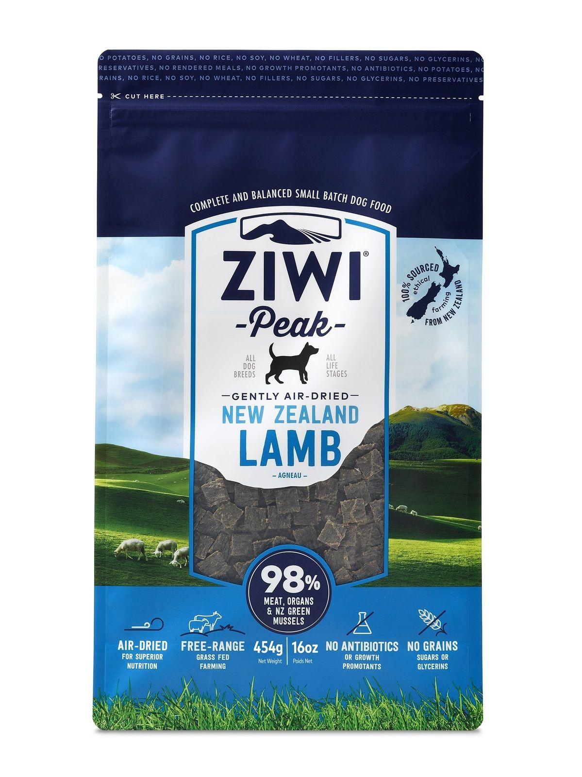 ZIWI PEAK AIR DRIED DOG FOOD 1KG POUCH LAMB Dog food