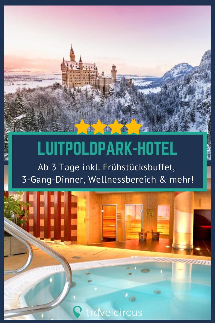 4 Luitpoldpark Hotel In Fussen Ab 139 2 2 1 Travelcircus Hotel Ubernachtung Urlaub Berge