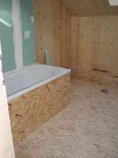sol osb salle de bain recherche google chambre pinterest osb salle de bains et salle. Black Bedroom Furniture Sets. Home Design Ideas