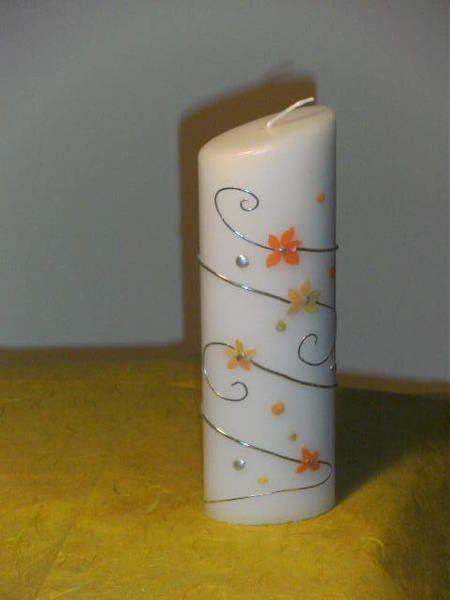 Kerze Zum Geburtstag Von Deko Huette Auf Dawanda Com Kerzen