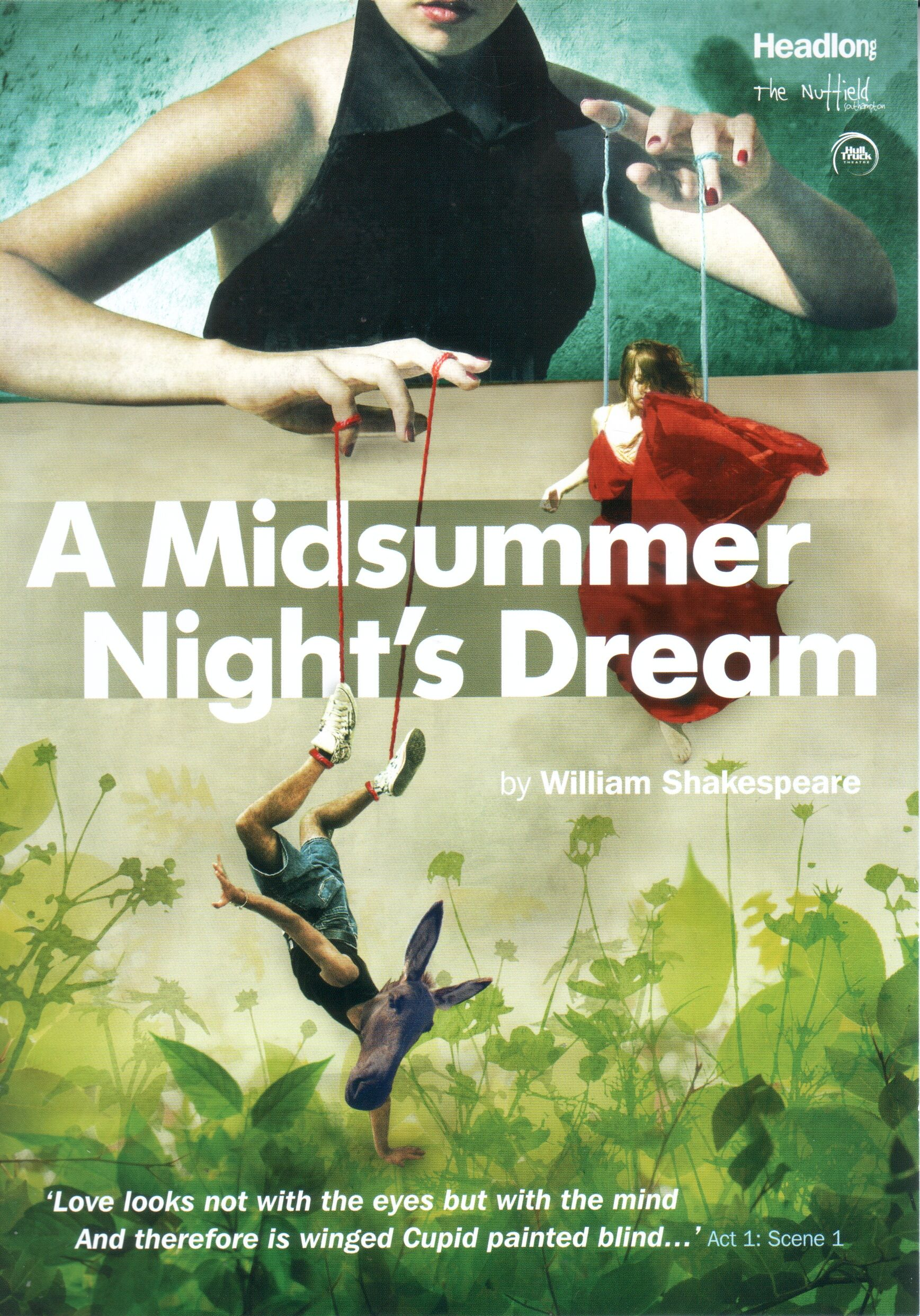 gender conflict in a midsummer nights dream essay Exciting and new, or even tedious and worn-out, love in all its variations is presented in a midsummer night's dream but what is love what causes us to fall i.
