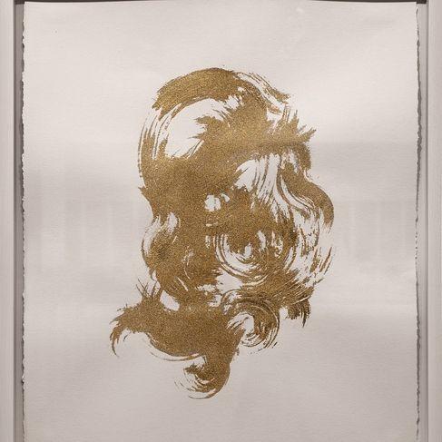 """Gold Headed"", 2013  Crédits : LORNA SIMPSON"