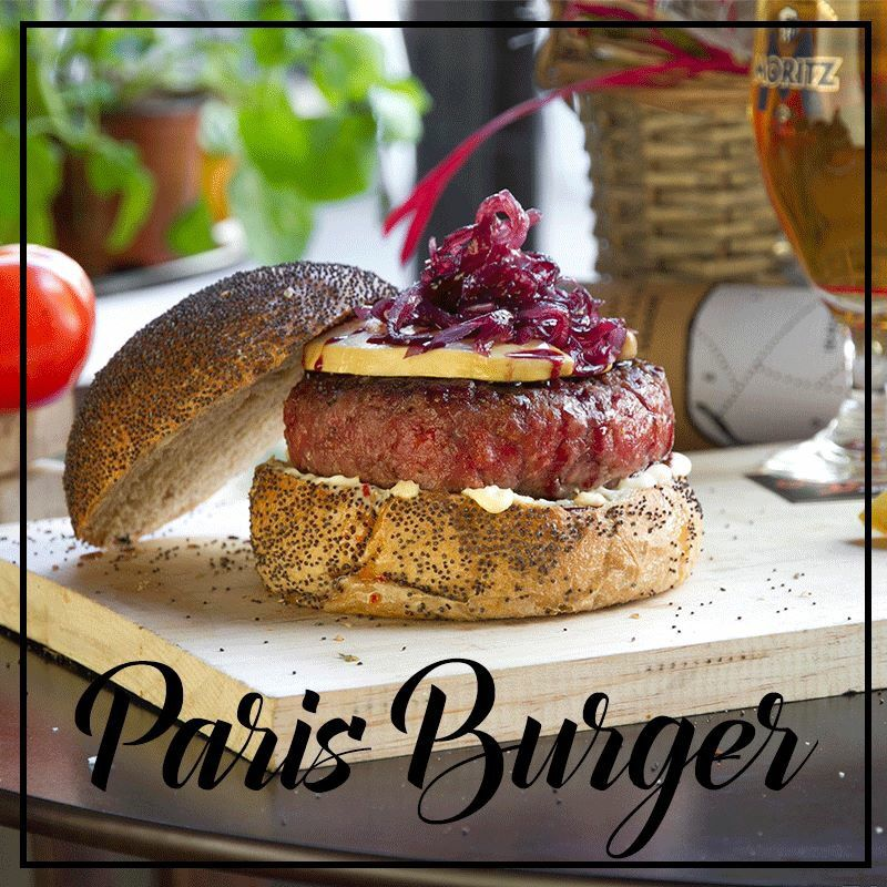 Paris Burger Hamburguesa Paris Foie Cebolla Caramelizada