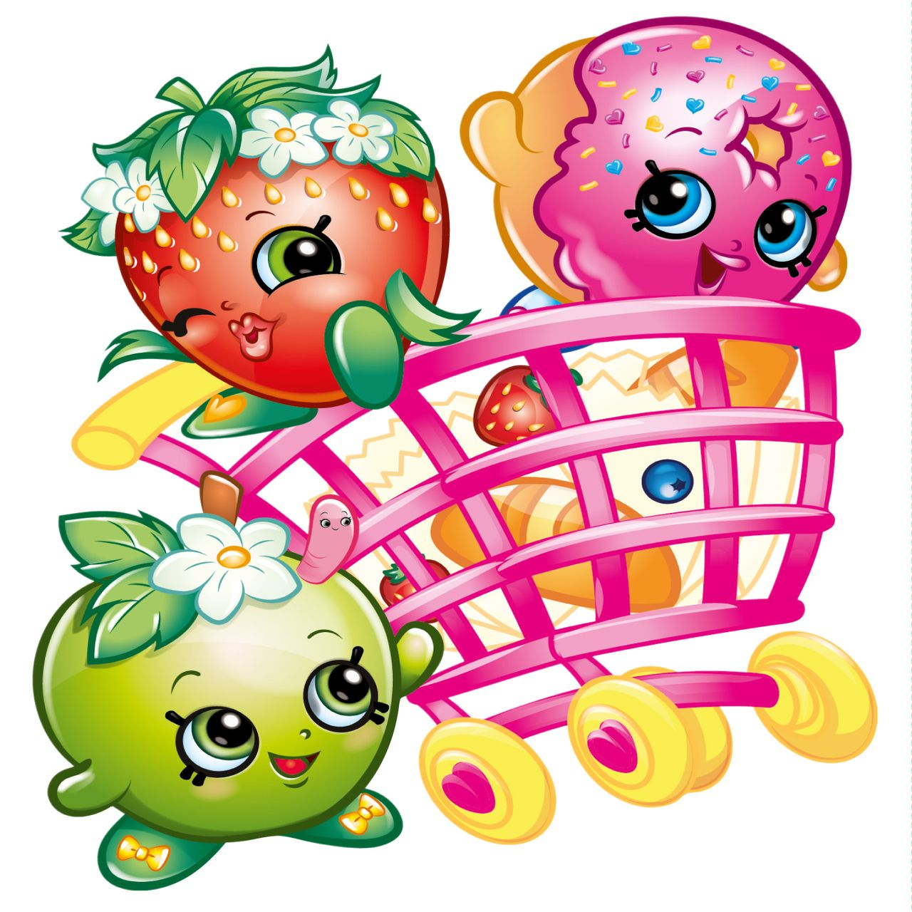 Shopkins Wall Stickers - Totally Movable and Reusable ...