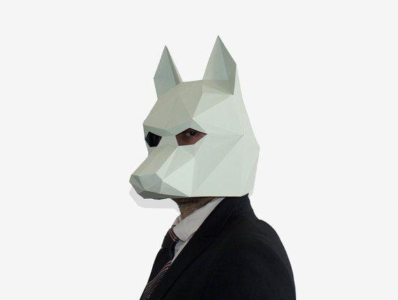 41d505b89c6 Hacer tu propia máscara de lobo