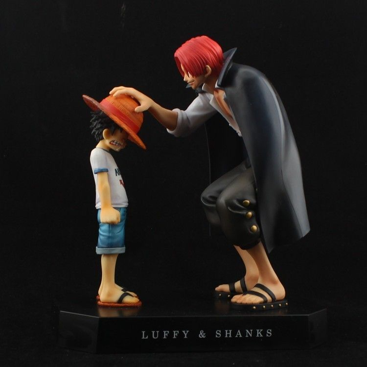 Aliexpress.com   Buy One Piece Anime Memories Child Luffy Red Heared Shanks  Promise Figure Set 6 from Reliable Monkey suppliers on Wenzhou Typu  Autopart ... b1563bcd5c6