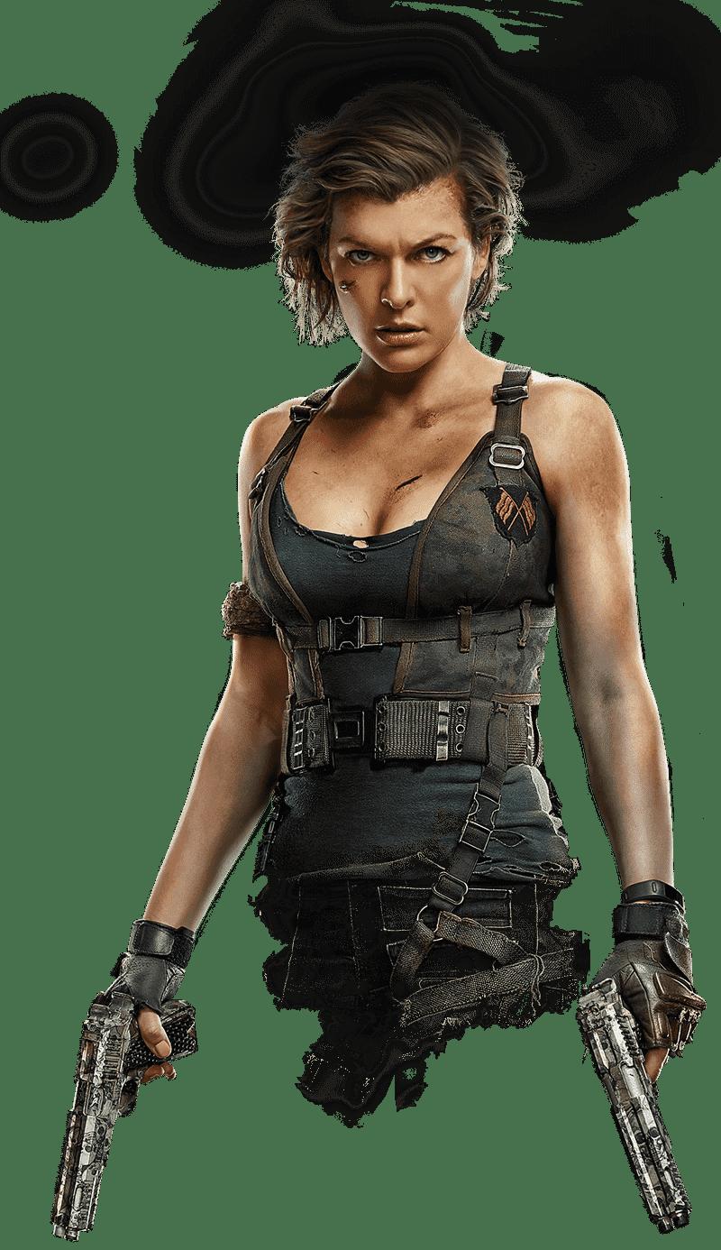 6 Finalchapter Girl Png 800 1386 Resident Evil Resident Evil Alice Evil