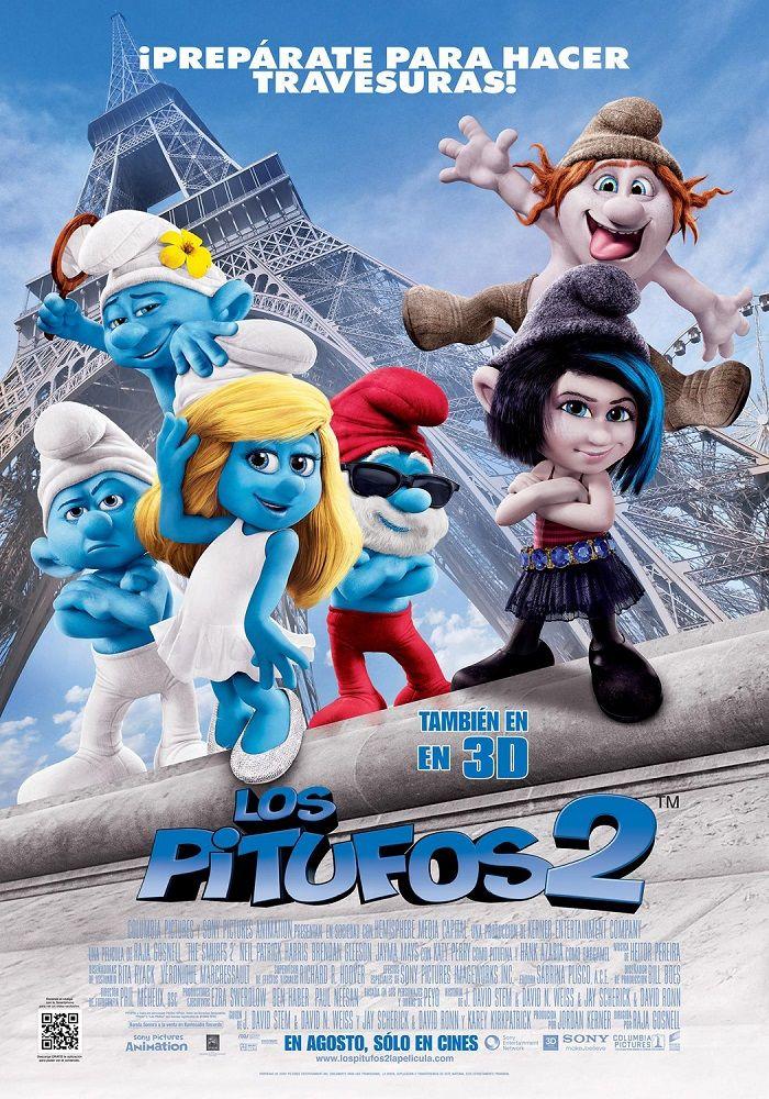 Los Pitufos 2 Poster Smurfs Movie The Smurfs 2 Smurfs