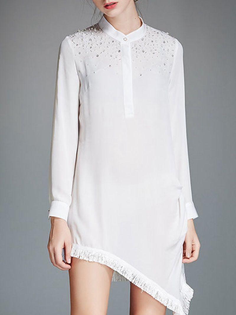 Shop white silk simple mini dress online the worldus mostcoveted