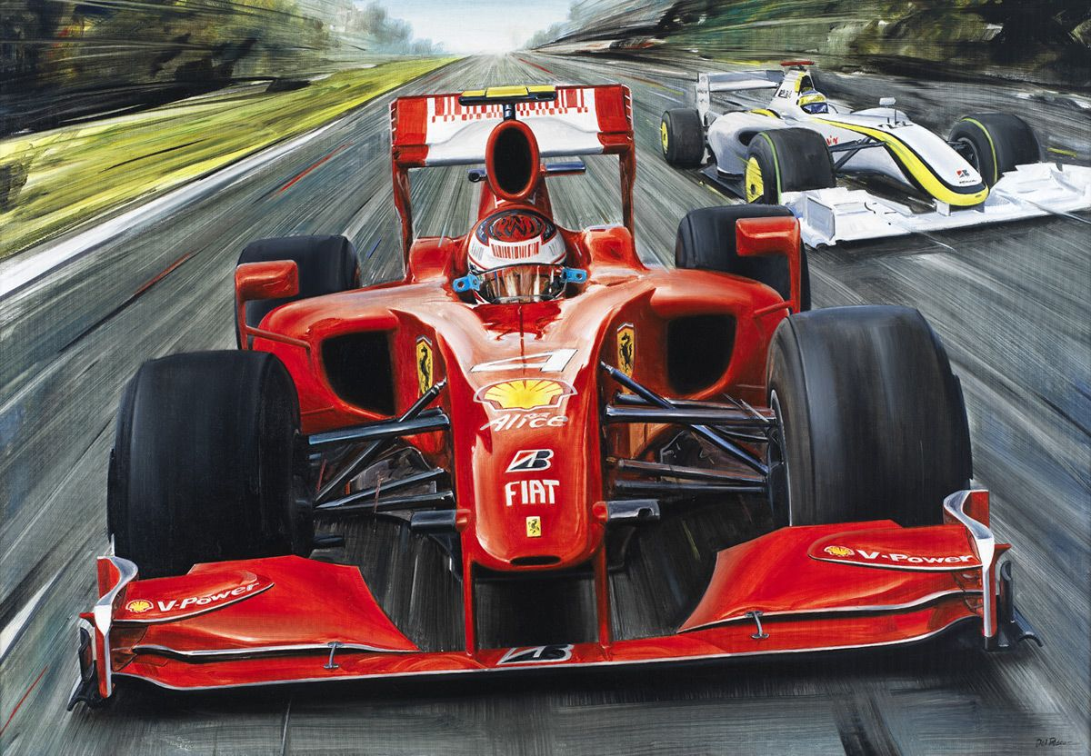 Michael Schumacher Mercedes Germany F1 Racing Art Silk Poster 13 x18 inch
