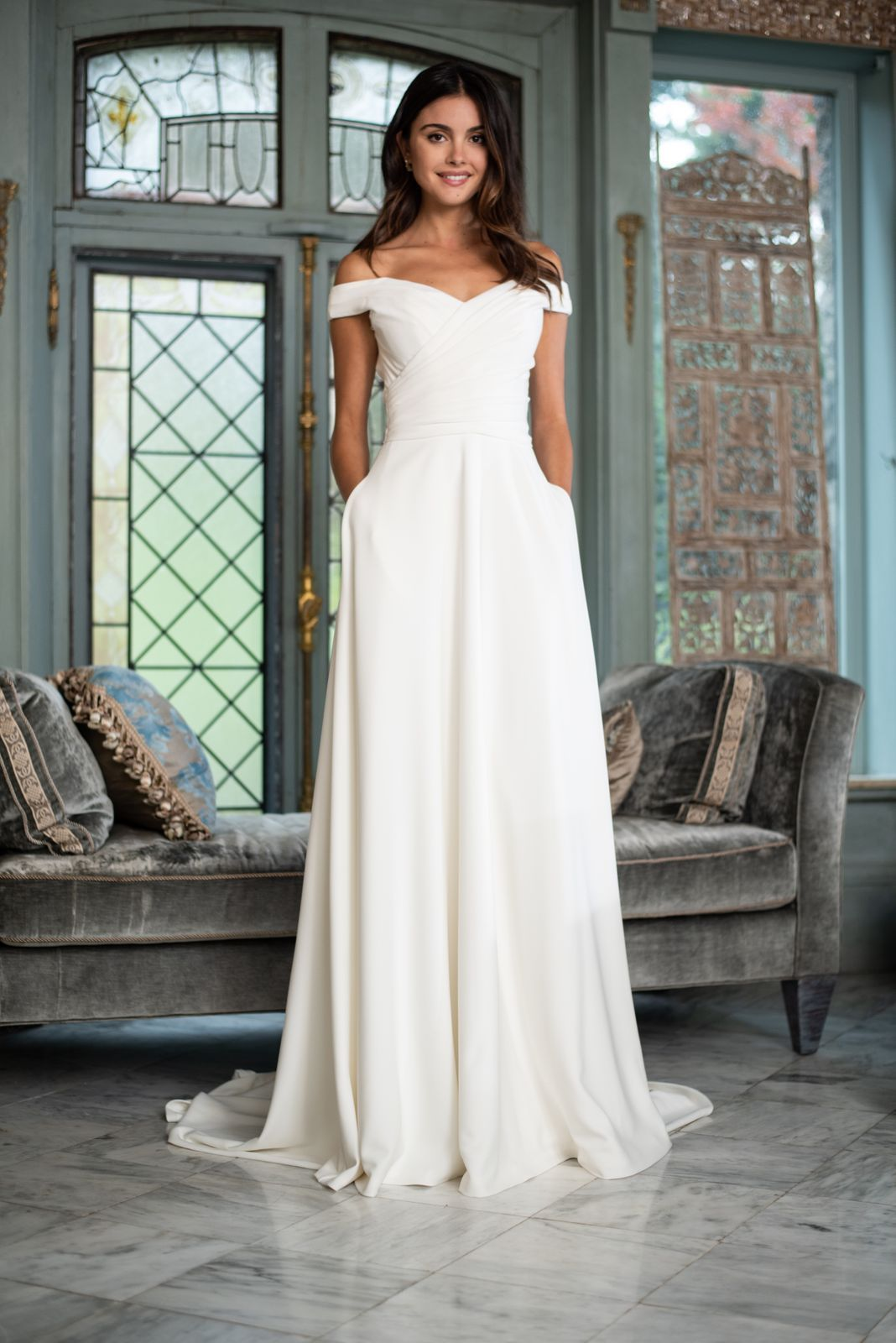 Marisol by Theia in 2020 Tea length bridesmaid dresses
