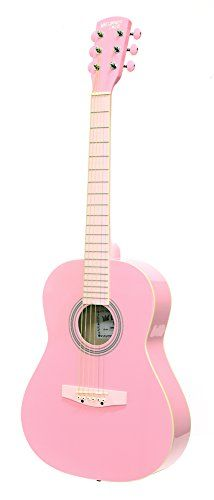 Darling Diva Ddpkg02pk Acoustic Guitar Cotton Candy Pink To View Further For This Item Visit The Image Link It Is Pink Cotton Candy Guitar Acoustic Guitar
