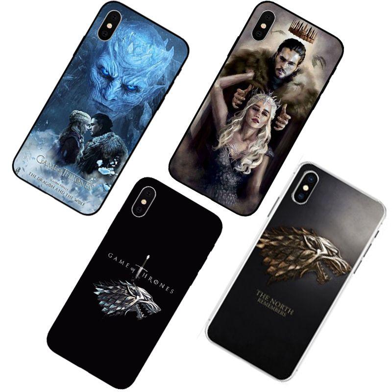 Game of Thrones GOT season 8 Dragon Jon Snow Daenerys Phone Case ...