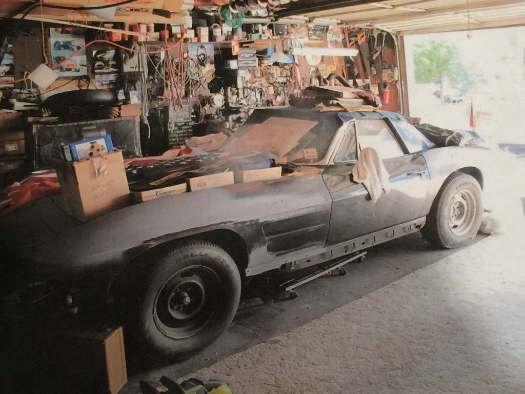 1964 Corvette garage find | Chevrolet corvette classic cars ...