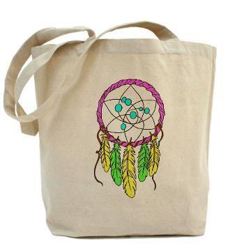 Pastel Dreamcatcher Tote Bag