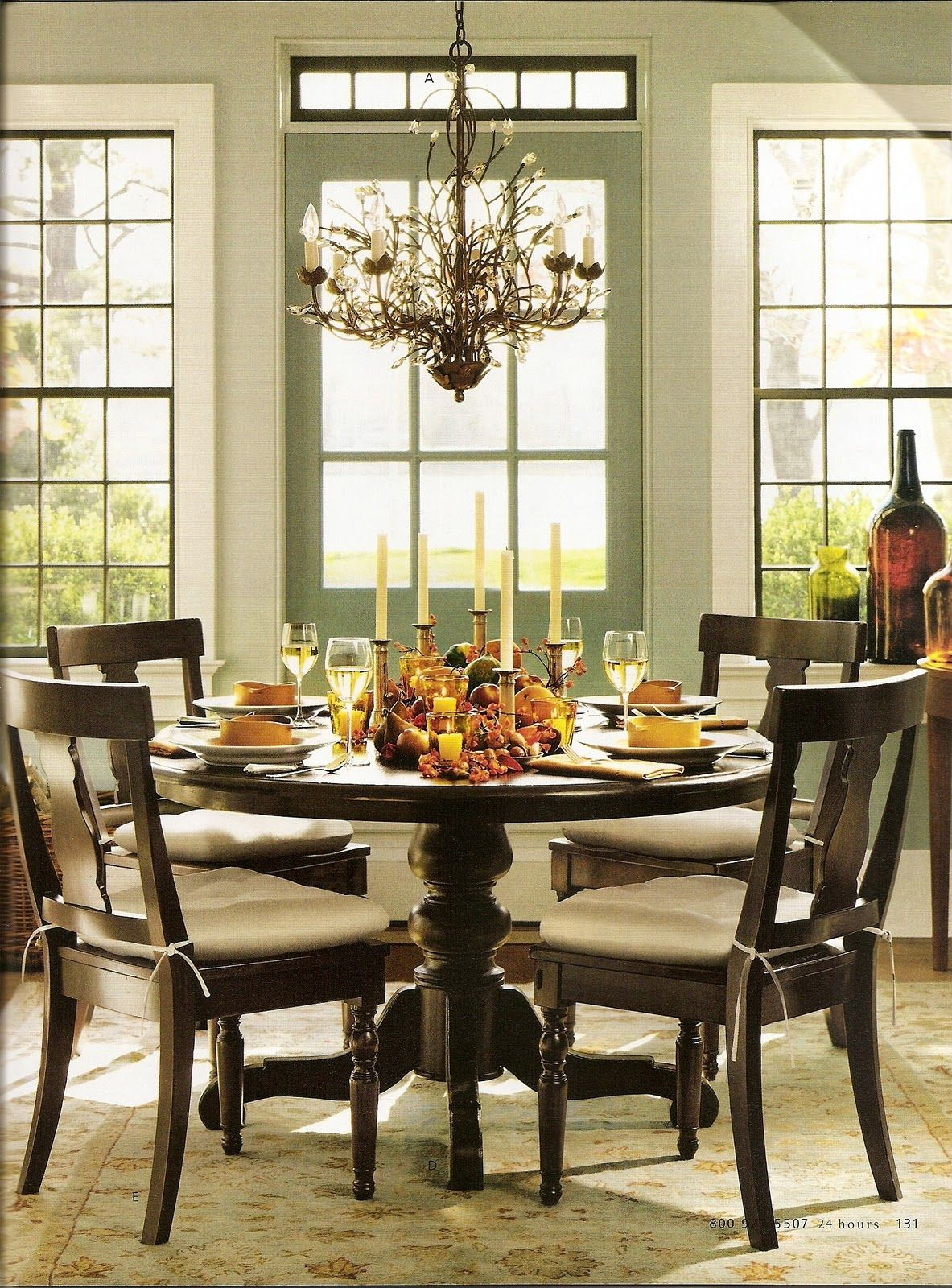 28 Simple Dining Room Ideas For A Stunning Inspiration: Simple Harvest Table