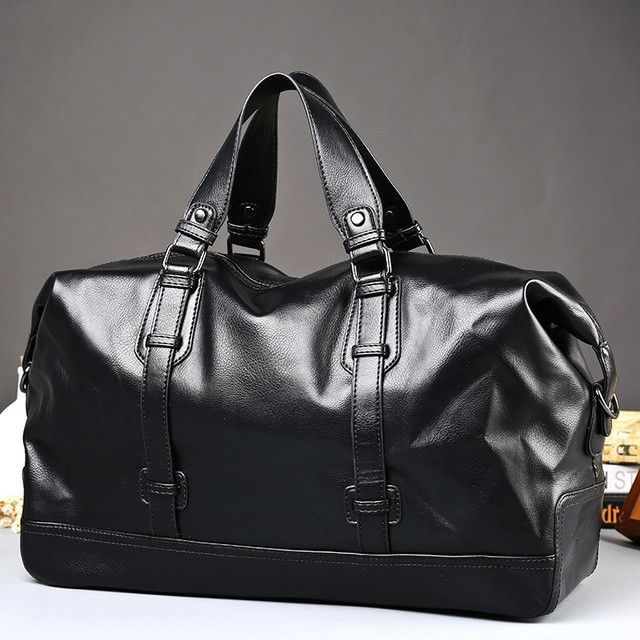 New style Men s Travel Bags mens Leather Big Size Shoulder Bag Famous  Designer Brands Duffle Bag High Quality Men Messenger Bags 5feff923df784
