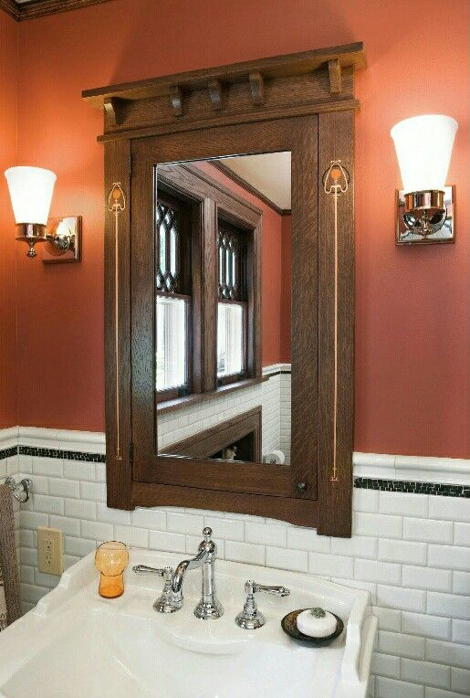 From Arts Crafts Homes Fall 2013 Vintage Bathrooms Pinterest