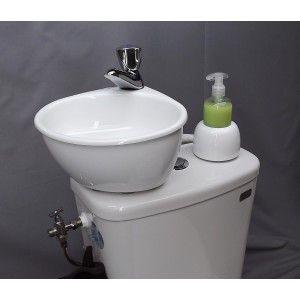 WiCi Mini, kit lave-mains adaptable | Sdb, Deco wc et Déco sdb