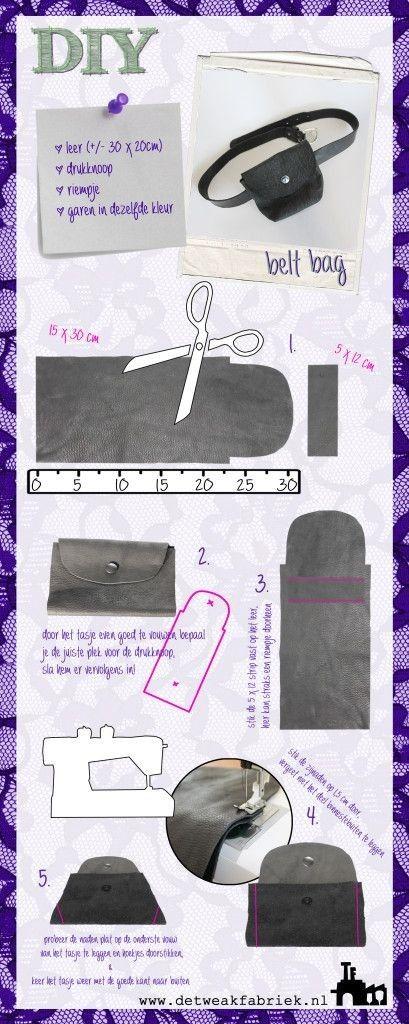 Cómo hacerte una riñonera DIY con estos patrones gratuitos - El Cómo ...