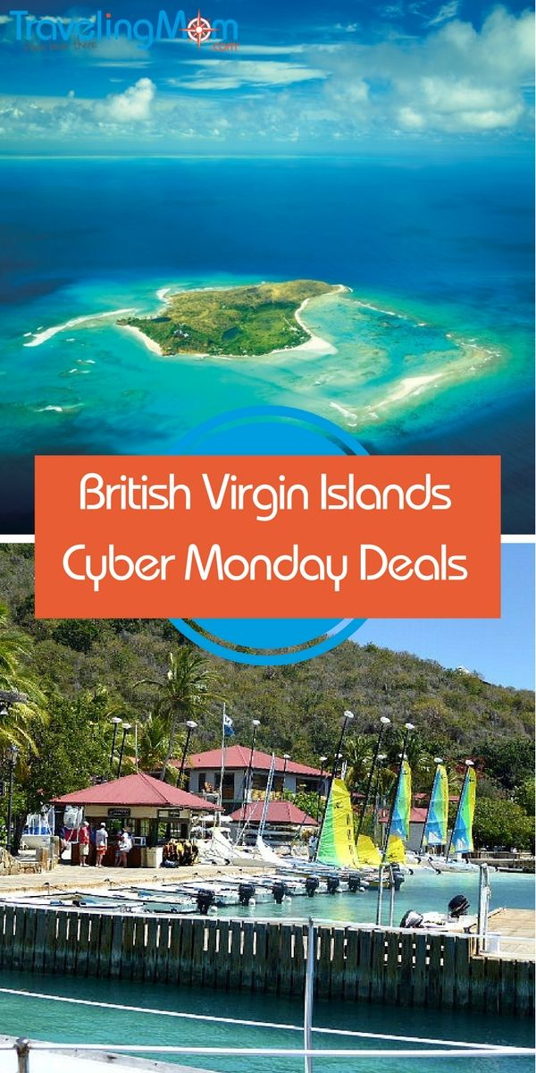 are there any cyber monday travel deals to the british virgin islands