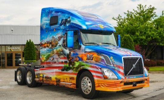Volvo Mack To Participate In Annual Ride For Freedom Volvo Trucks Volvo Trucks