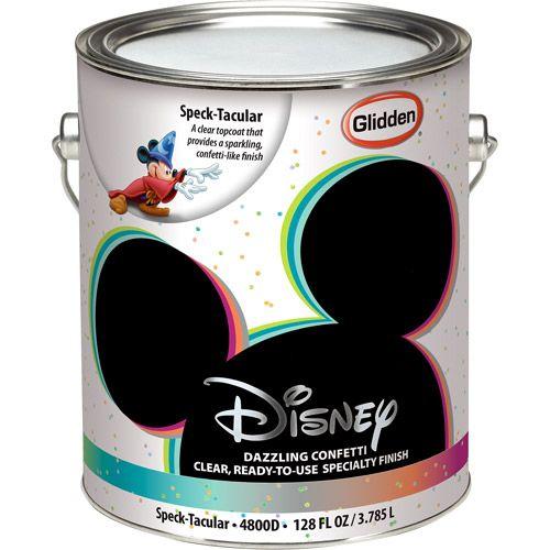 Disney Speck Tacular Interior Specialty Paint 1 Gallon Paint Home Decor
