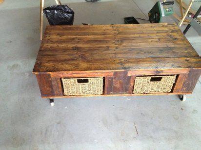 Hacer una mesa con palets - Hacer mesa palets ...