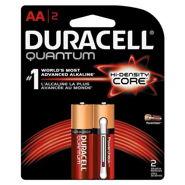 Duracell Quantum Alkaline Aa Batteries 2 Ct Pg Shop Us Duracell Duracell Batteries Alkaline Battery
