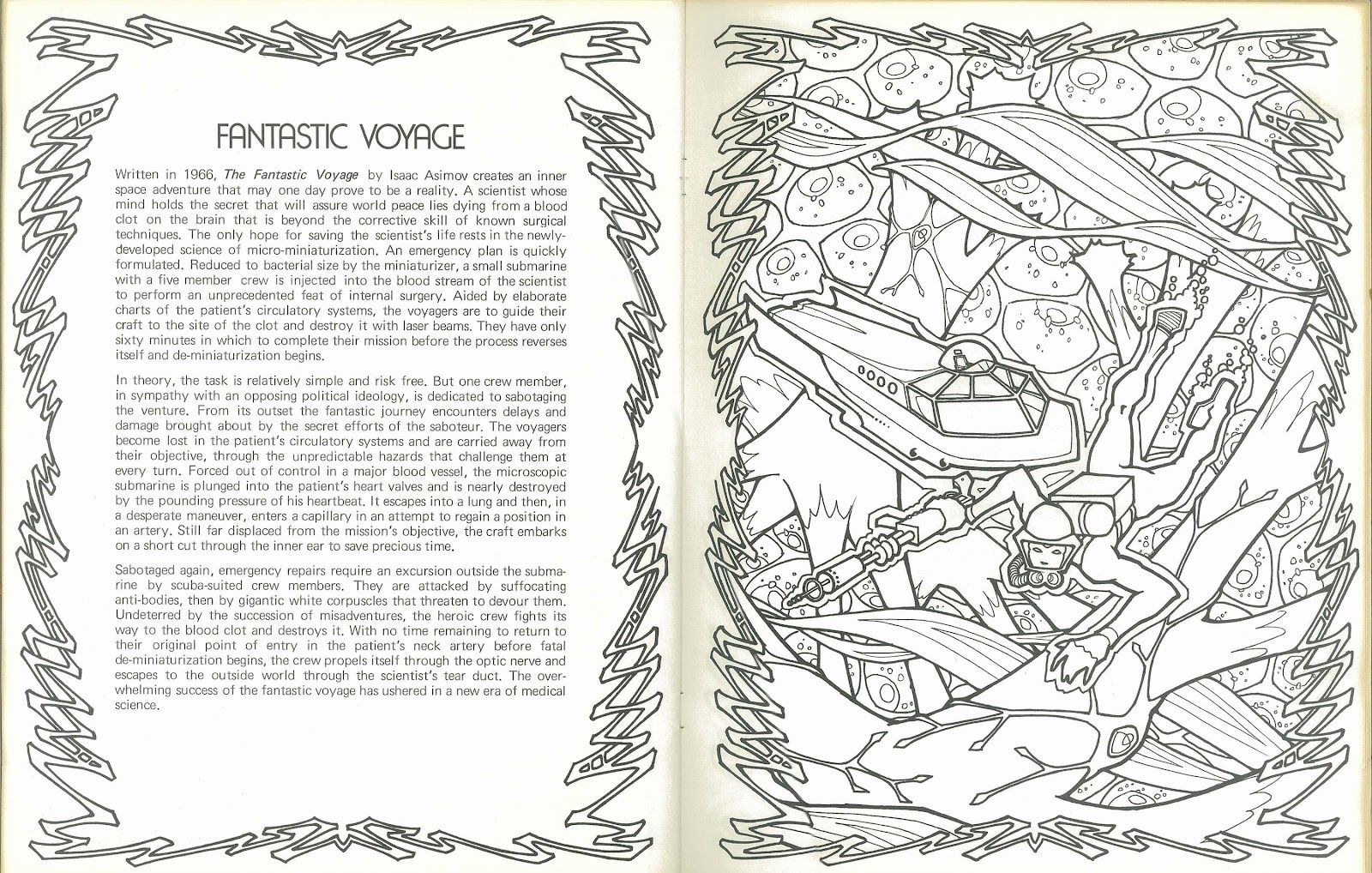 Erotic Science Fiction Coloring Pages Science Fiction Anthology Coloring Book