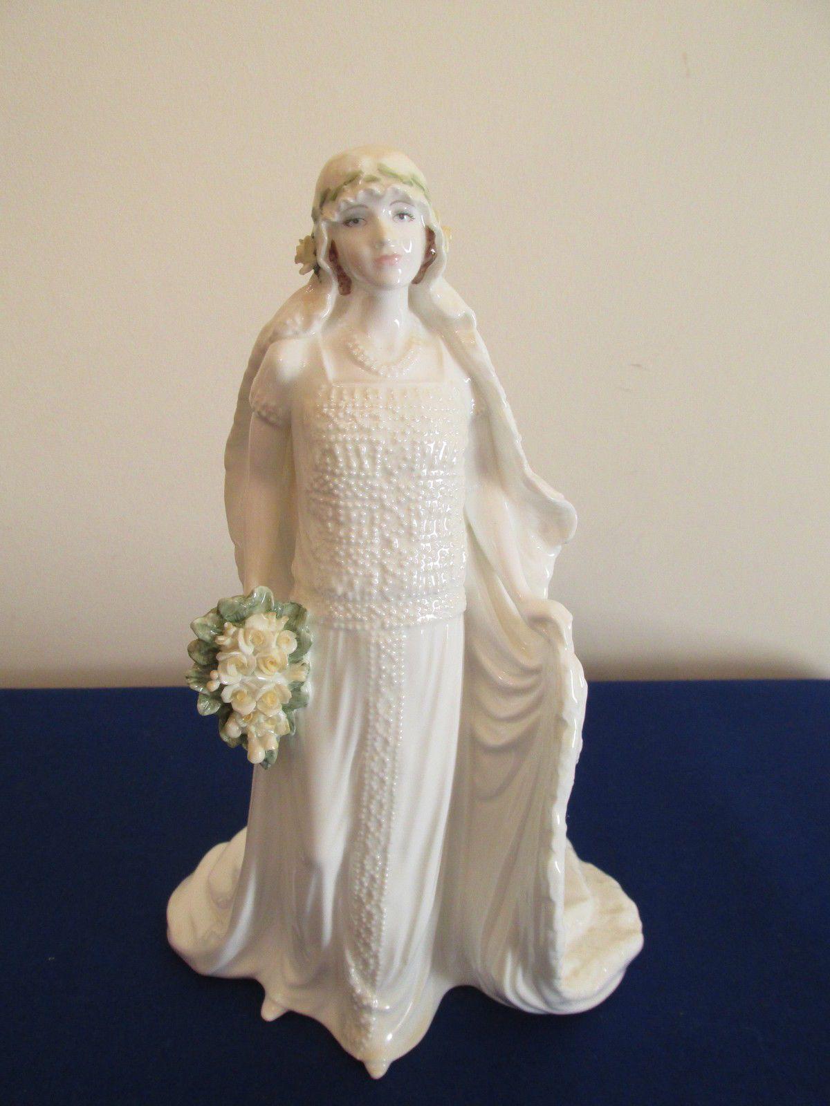 Coalport 'Queen Elizabeth' Wedding Anniversary Figurine
