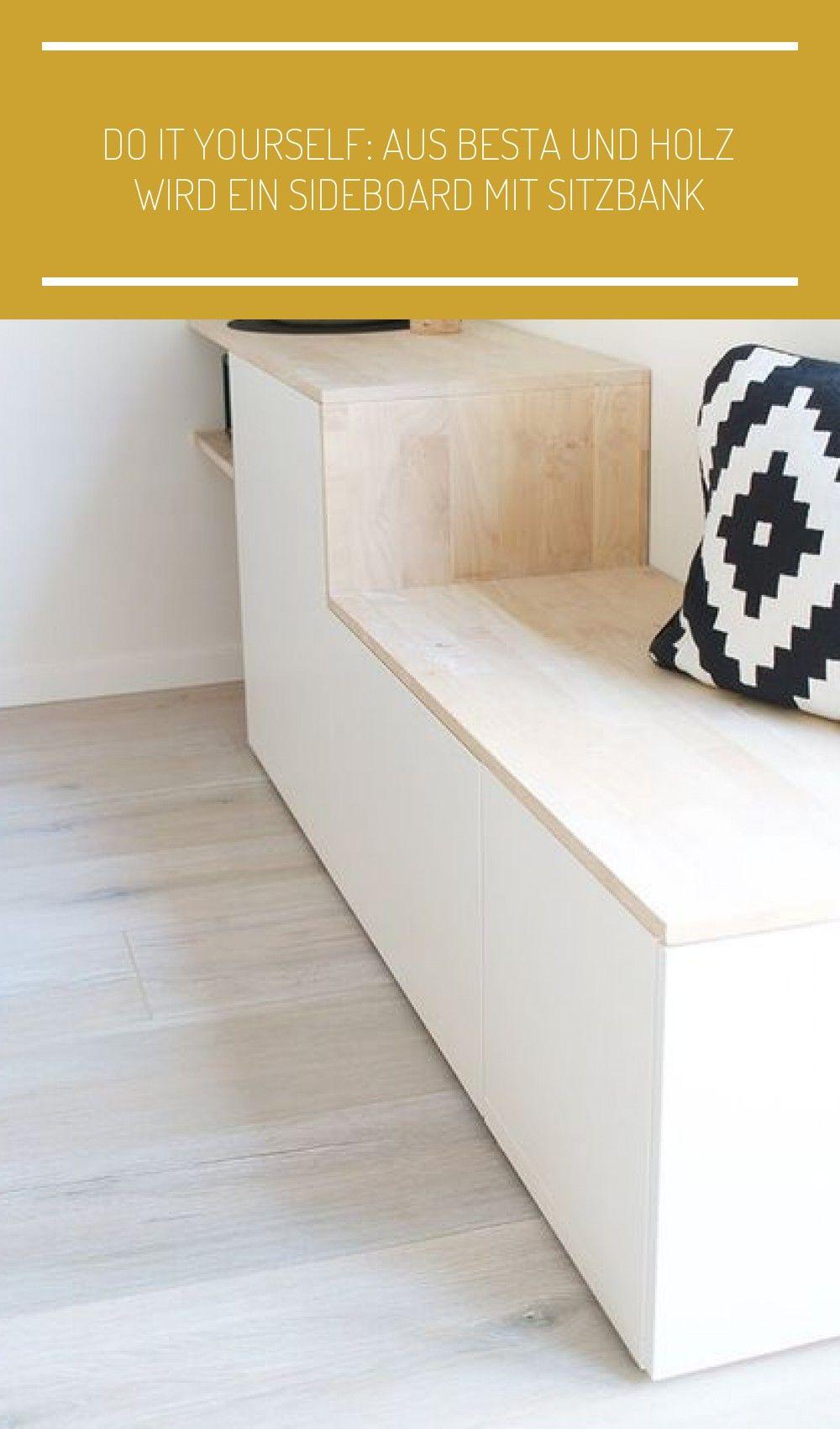 Photo of DIY Sideboard mit Sitzbank aus Besta von Ikea selbst bauen – Ging